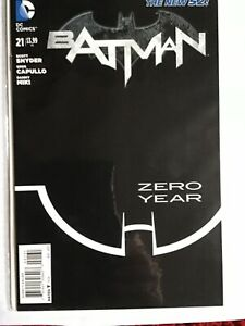 BATMAN-21-BLACK-amp-WHITE-SKETCH-VARIANT-COVER-1-in-100-NEW-52-DC-COMICS
