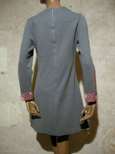 Abito di tweed vintage in Vtg anni Anni 60 Abito Kleid tweed '60 38 chic Mod abito wTAr8w