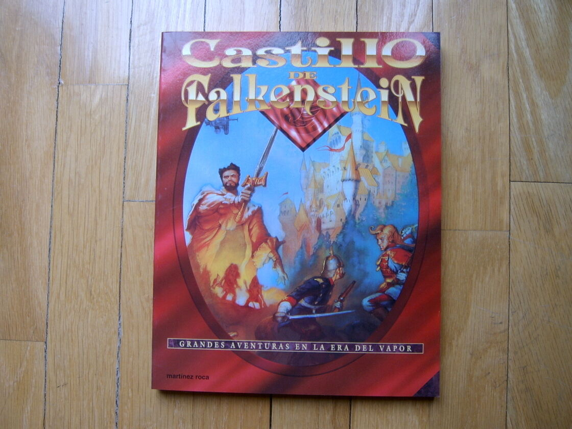 CASTILLO de FALKENSTEIN - Básico - juego de rol 1ª ed. 1995 Martínez Roca
