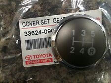 GENUINE TOYOTA YARIS 2010 GEAR KNOB CHROME CAP TOP ONLY 5 SPEED 2010