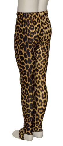 KDT001 Girls Ladies Zebra Animal Print Leggings With Stirrups By Katz Dancewear