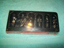 "NEW Snapon™ 3/8"" drive 10 12 - 15 17 mm 6pt Universal SWIVEL Socket SET 206FSUMA"