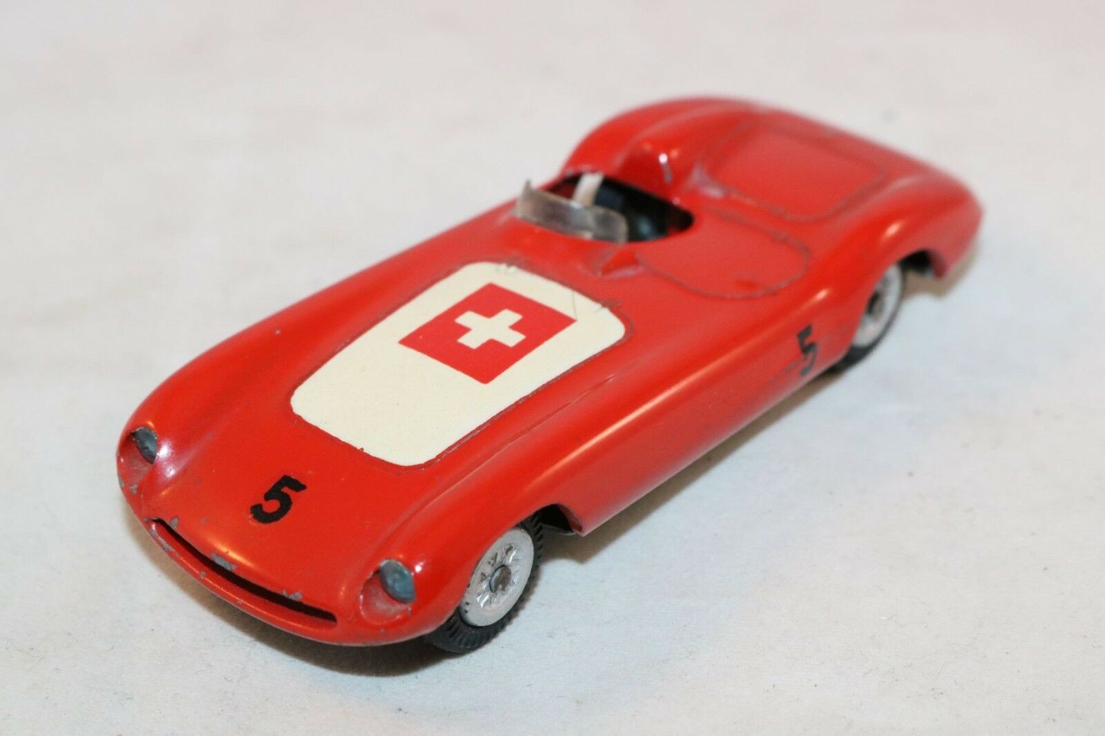 Tekno Denmark 813 Ferrari racing car SWISS FLAG near mint mint mint original condition b67ae1