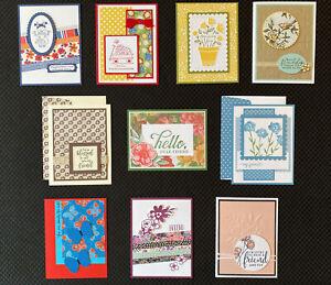 10-Handmade-Friendship-greeting-cards-envelopes-Stampin-039-Up-more