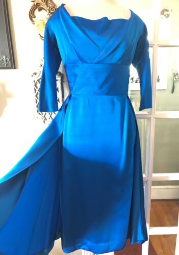 Vintage dress Hollywood Glam stunning Calbette sat