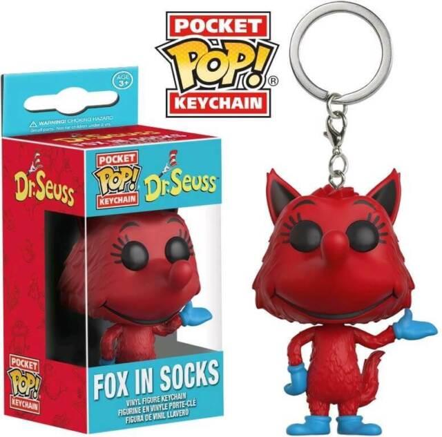 Funko Dr Seuss - Fox in Socks Pocket Pop! Keychain