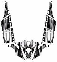 Polaris Rzr 900 Xp4 Graphics 2011 - 2014 Kit Pro Armor 4 Doors 3000 Black Metal