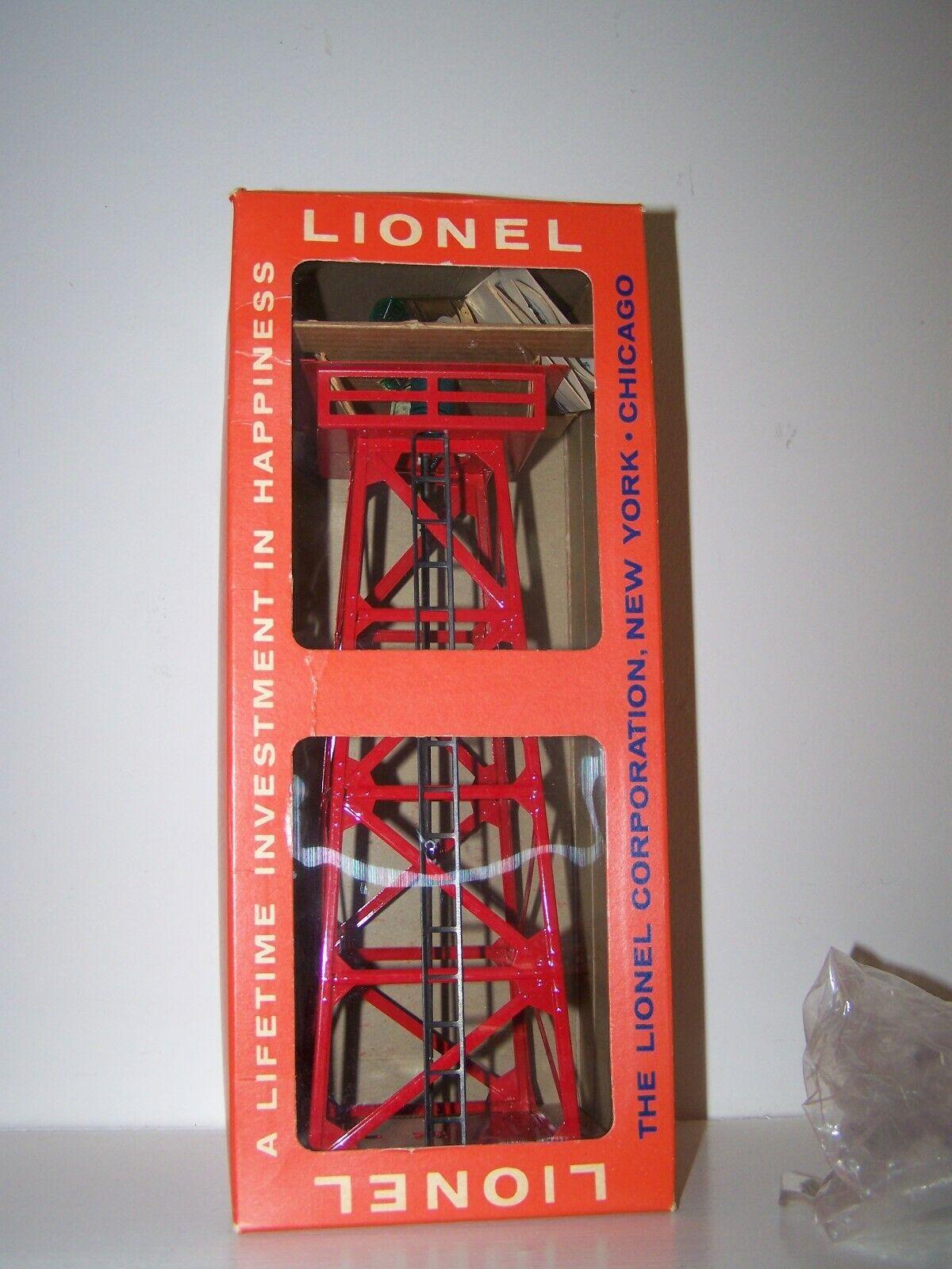 Lionel rossoary Beacon - No. 494 494 494 - New - NEVER OUT OF ORIGINAL BOX  - NOS dde790