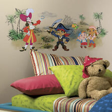 Disney Jr. CAPTAIN JAKE and the NEVERLAND PIRATES wall sticker MURAL huge decal