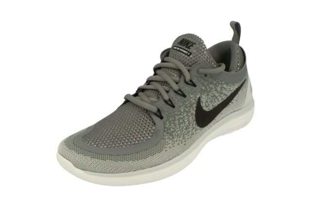 9ae345349912c Nike RN Distance 2 Running Mens Shoes Run Cool Grey 863775-002 UK 7 ...