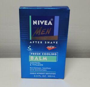 Nivea Men After Shave Fresh Cooling Balm Menthol Vitamins 3.3 oz