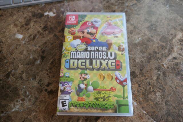 Super Mario Bros. U Deluxe Nintendo Switch - NEW SEALED