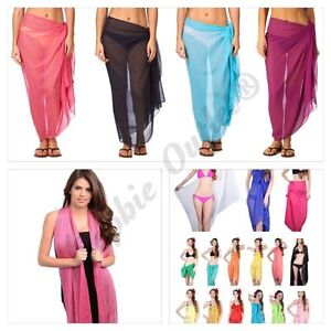New-Ladies-Shawl-Scarf-Viscose-Plain-Hijab-Rayon-Sarong-Wrap-Bikini-Beach-Dress