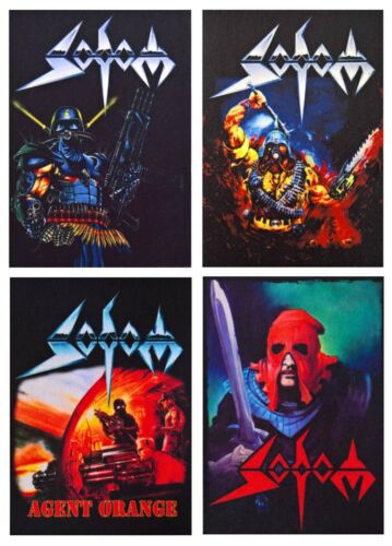 Sodom patch DIY sew on printed rock band patches speed thrash heavy black metal