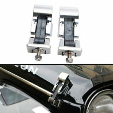 Pair Front Hood Latch Catch /& Bracket for Jeep Wrangler JK 2007-18 Free Shipping