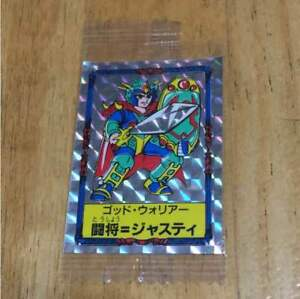 God-Warrior-Clash-Attorney-Justy-Seal-trading-card-Vintage-rare-from-JAPAN
