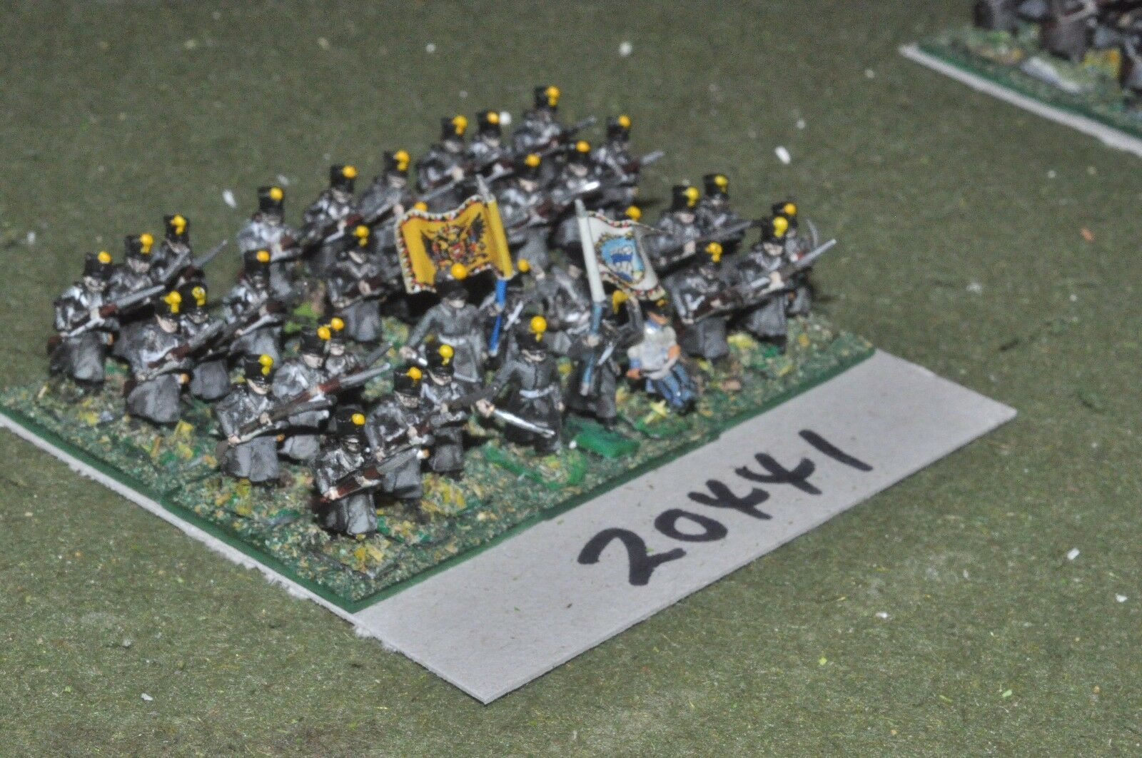 15mm napoleonic   austrian - infantry 36 figs - inf (20441)