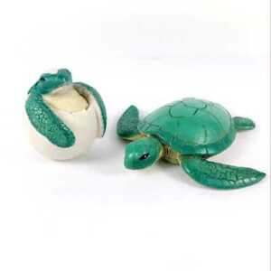 Lot2pcs-Green-Sea-Turtle-amp-Turtle-Egg-from-Lea-039-s-Beach-Set-for-18-034-American-Girl