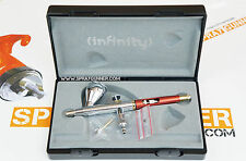 Harder & Steenbeck Infinity CR Plus 0.4mm Airbrush  with Cleaning Brush Set