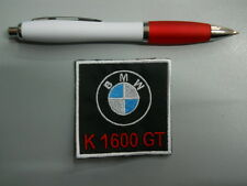 toppa patch BMW MOTORRAD K 1600 GT embroidery ricamato termoadesivo 6x6