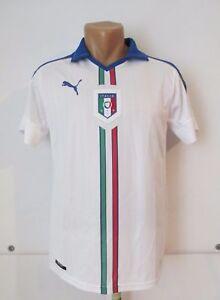 2e134008f ORIGINAL ITALY EURO 2016-17 PUMA AWAY FOOTBALL SHIRT SOCCER JERSEY ...