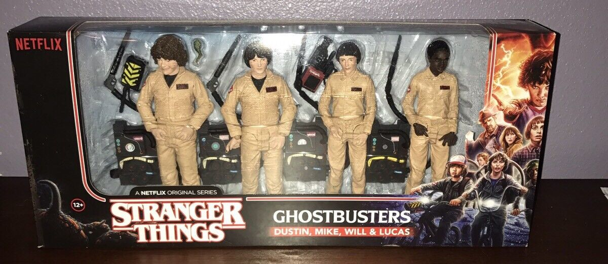 Mcfarlane desconocido cosas Ghostbusters Paquete de 4 Figuras De Acción Exclusivo Juegostop