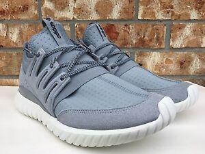 best loved bdd87 0be93 Men s Shoes Men s Adidas Tubular Radial Light Grey Core Black Vintage White  Sz 9.5-13 S80112