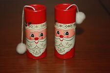 1966 Vintage Santa Christmas Matchsticks Match Sticks Rare Novelty mid century