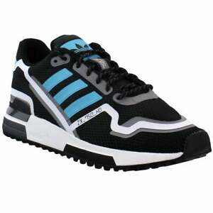 adidas-ZX-750-HD-Lace-Up-Sneakers-Casual-Black-Mens