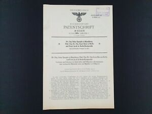 1939-Nazi-Germany-Official-Sealed-Document-Medical-Patent-WWI-Hitler-Reich-Stamp