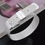 Fashion-925-Silver-Plated-Charm-Bangle-Cuff-Bracelet-Men-Women-Jewelry-Wristband thumbnail 6