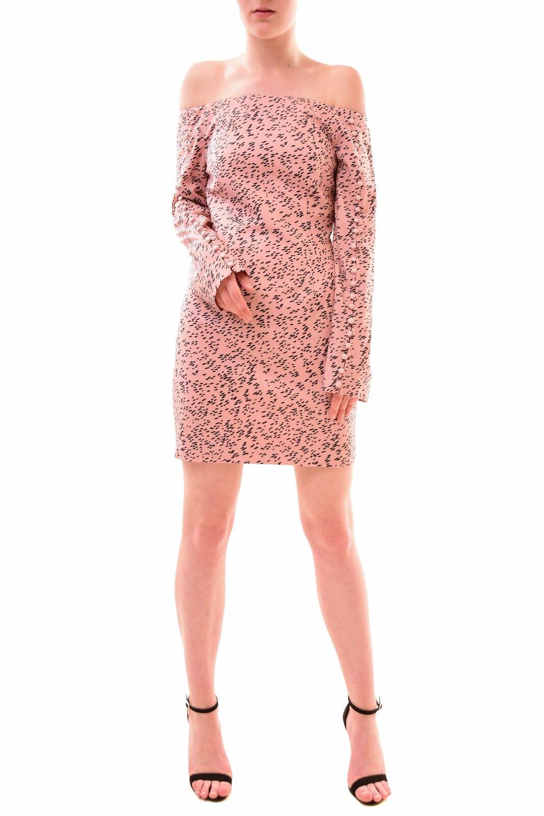 Keepsake Women's Morning Rain Mini Dress Dusk Rain Print Size S RRP  BCF77