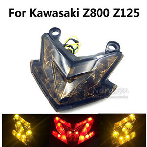 New Motorcycle Tail Light Brake Turn Signal Light For Kawasaki Z800