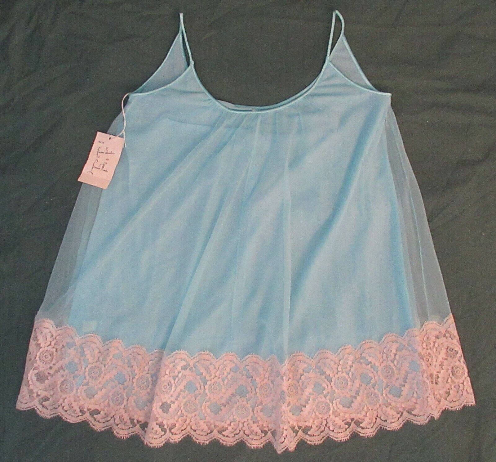 Vintage Lucie Ann Woman's Baby Doll Nightie NWT M… - image 1