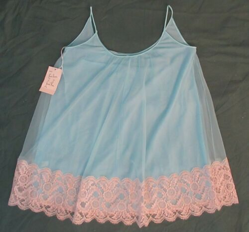Vintage Lucie Ann Woman's Baby Doll Nightie NWT Ma