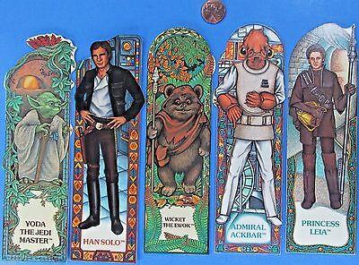 BOOKMARK HAN SOLO Glossy Finish /'83 vtg Star Wars