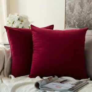 MIULEE-Pack-of-2-Velvet-Soft-Soild-Decorative-Square-Throw-Pillow-Covers-Set
