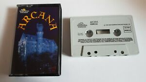 ARCANA-Commodore-64-C64-cassette-game-New-Generation-Software