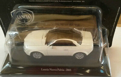 "Course Rigid Box2 Scale 1/43 Sweet-Tempered Die Cast "" Spear New Fulvia 2003 """