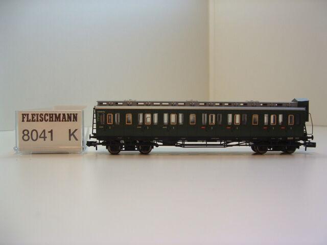 Fleischmann N 8041K Abteilwagen 1.Kl. DB Ep.III OVP N412