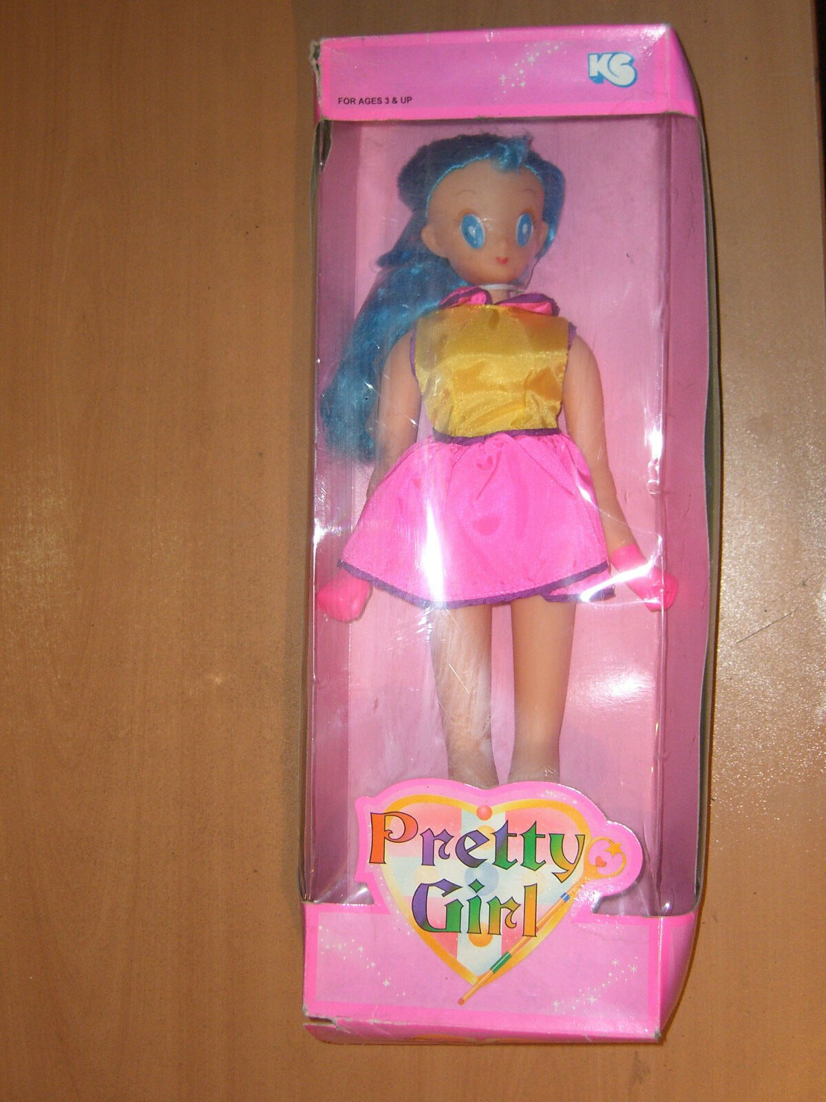 VINTAGE SAILOR PRETTY GIRL SAMMY DOLL ULTRA RARE HUGE MIB