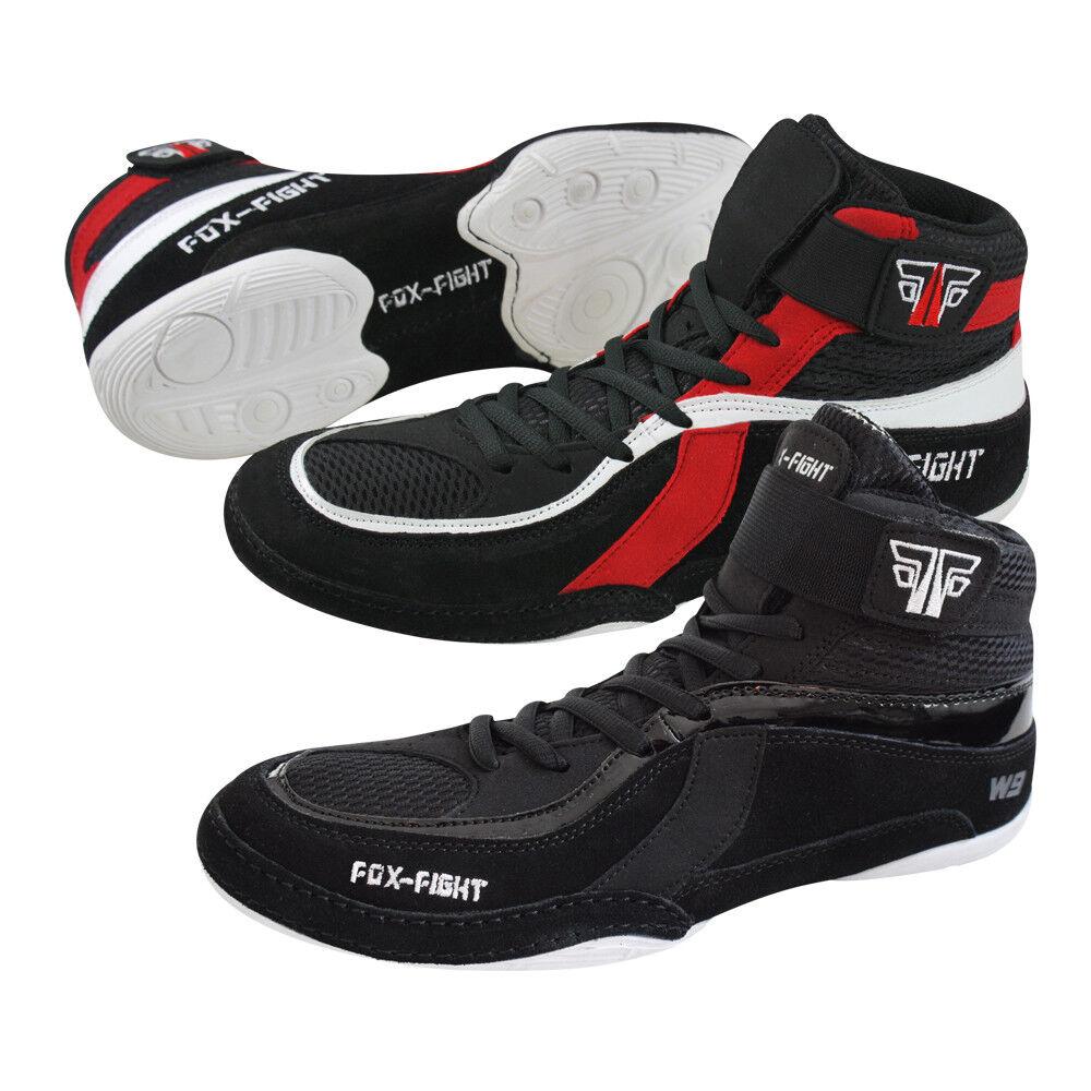 FOX-FIGHT FOX-FIGHT FOX-FIGHT Ringer Schuhe Wrestling  Wildleder Ringerschuhe Ringer Stiefel 0a5b4d