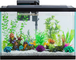 Aquarium-AquaDuo-LED-Starter-Kit-20Gallon-Fish-Tank-Lighting-Dual-Purpose-Filter