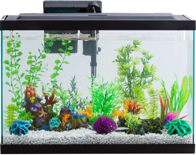 Aquarium AquaDuo LED Starter Kit 20Gallon Fish Tank Lighting Dual Purpose Filter