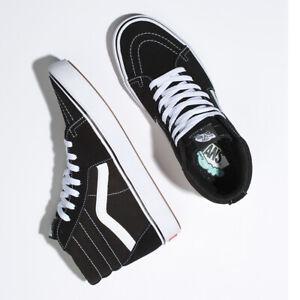 Vans-Comfycush-SK8-Hi-Sneakers-Original-Shoes-Black-VN0A3WMBVNE-US-Size-4-13