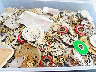 ASSORTED SETS 10g - 200g Steampunk Cyberpunk Cogs Gears Watch Parts jewellery