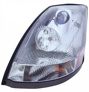VOLVO VNL - BLACK LED Projector Headlight (PASSENGER SIDE)  |Headlamp 2000 Volvo Vnl