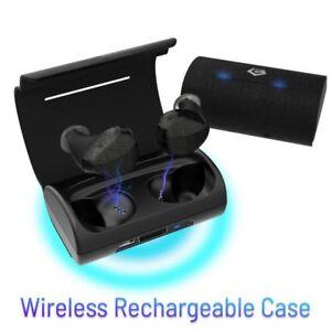 True Wireless Bluetooth 5.0 Earbuds Sports Headphone Earphones w/ Charging Case