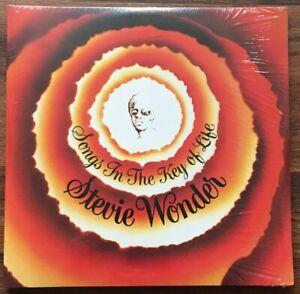 Stevie-Wonder-Songs-In-Key-Of-Life-2LP-Vinyl-New-180gm-Gate-Album-7-034-Bonus