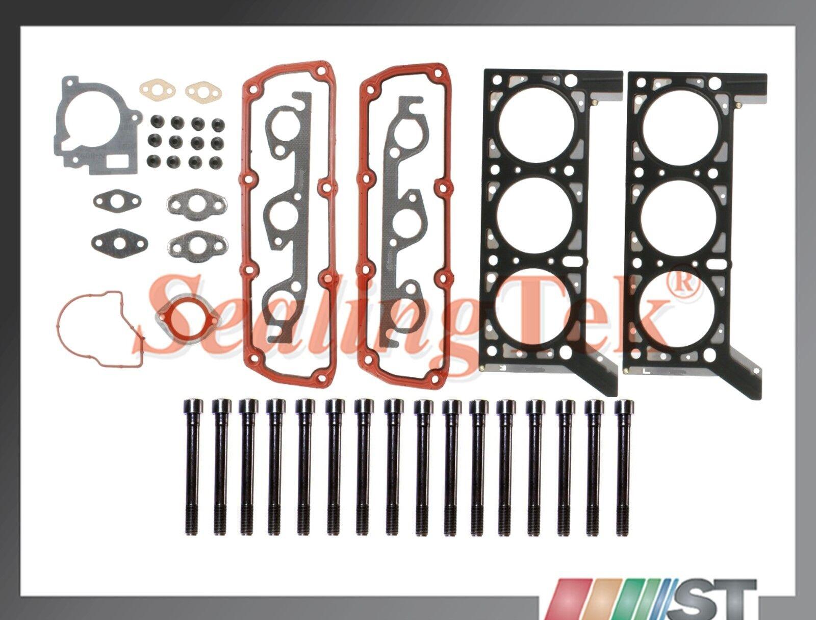 Fit 01-04 Chrysler Dodge 3.3L 201ci OHV V6 Cylinder Head Gasket Set kit engine